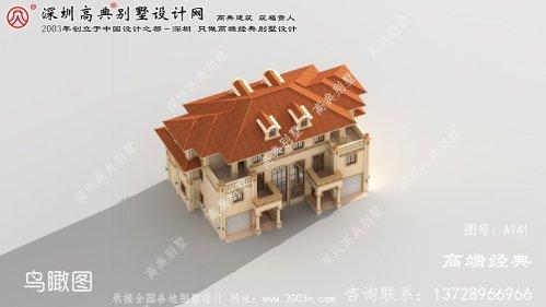 嘉定区新农村三层别墅设计图