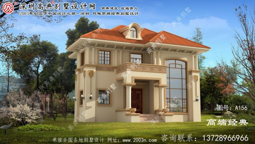 徐汇区农村二层房屋效果图