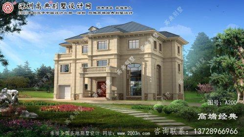丹阳市农村自建别墅设计