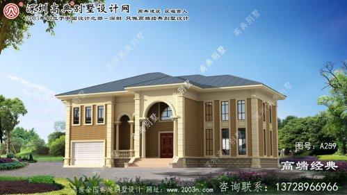 溧阳市最美别墅外观造型