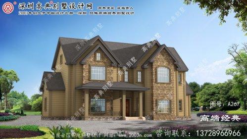 长宁区独栋别墅设计图纸
