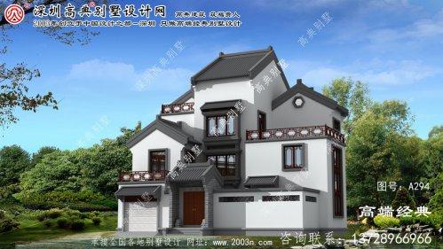 响水县最新别墅设计效果图