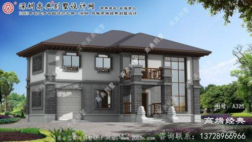 泗阳县三层中式别墅