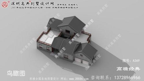 高邮市乡村单层别墅设计图