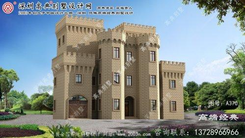 灌云县乡下房子设计图