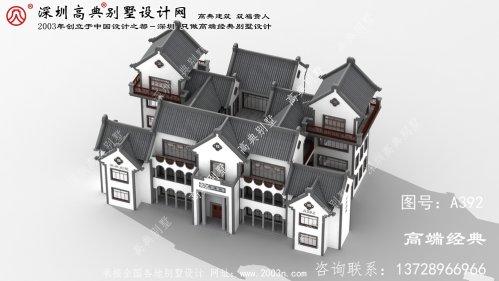 清浦区小别墅外观图片大全