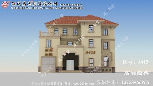张家港市三层楼房设计图纸