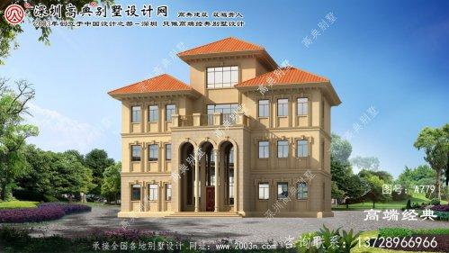 黄山区别墅设计外观图精致美观