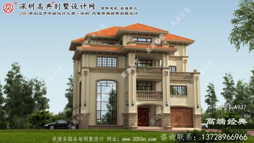 谯城区意大利风格独栋别墅设计图