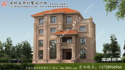 市北区欧式豪华别墅设计图