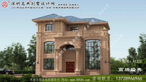 唐山市别墅设计图大全