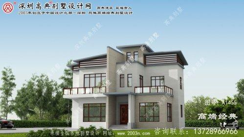 冀州市别墅图设计图纸