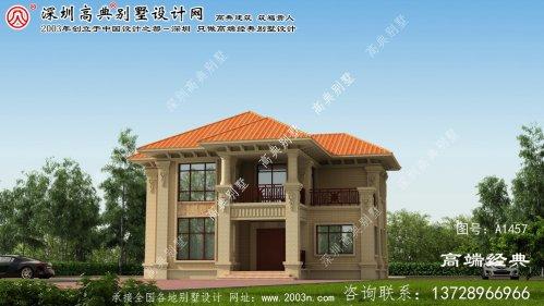 安平县最好的农村别墅平面设计图