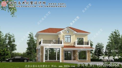 宁武县两层独栋别墅设计图