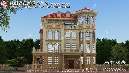 察哈尔右翼中旗大户型别墅楼梯设计图