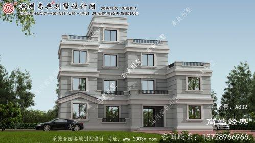 禹州市平顶别墅设计图