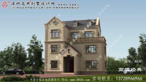 舞阳县农村别墅庭院设计图