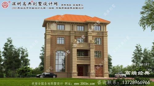 湘阴县别墅的建筑图