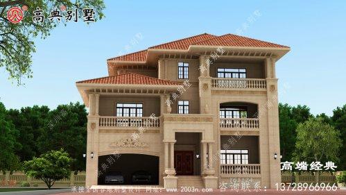 水城县三层别墅室内设计图