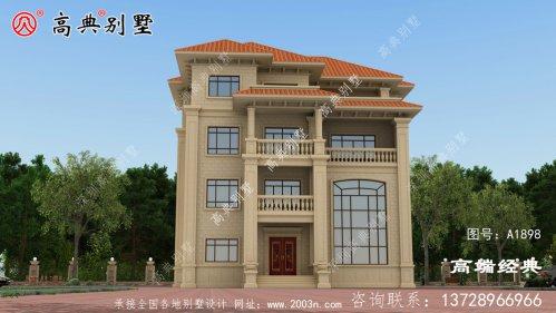 广南县农村四层别墅设计