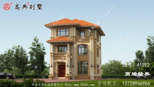 甘谷县农村3层别墅