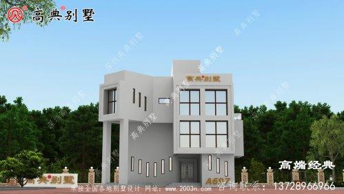 简约两层别墅设计图