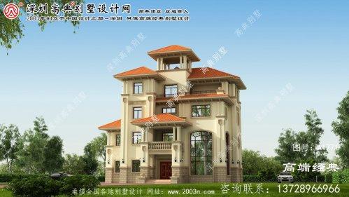 昭苏县欧式尊贵的四层复式别墅设计图大气 又时尚