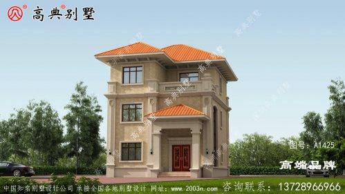 农村房子设计图两层半非常美丽实用 !