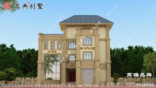 这款别墅体现简单而富有贵族气息