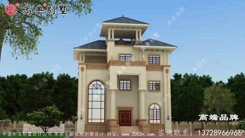 农村房屋设计图大全外观精致秀丽