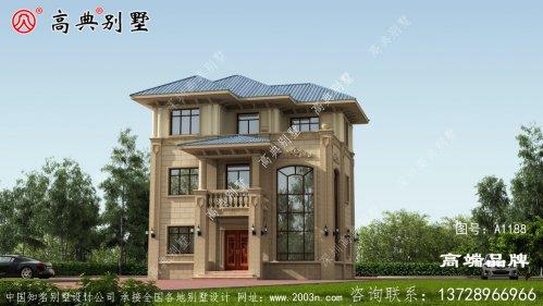 三层别墅效果图在老家都非常受欢迎