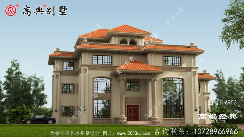 古交市四层自建别墅 的图纸 ,是近五年最好的投资