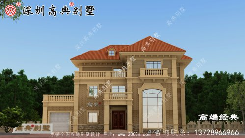 美丽 的独栋 三层别墅 ,要赶紧 收藏 好!