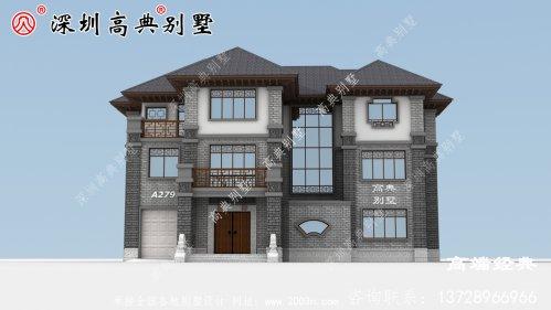中式庭院别墅外观效果图大全,建一栋这样的房子才叫有品位