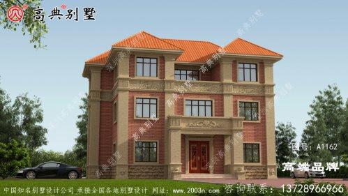 盖栋别墅外观造型美居住舒适度会更好