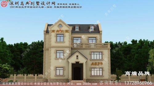 2021农村新款别墅三层设计图,这么好看实用的设计图不收藏还在等什么呢?