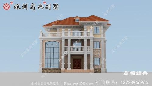 三层欧式别墅设计图,永不过时的风格,千万豪宅无法替代。
