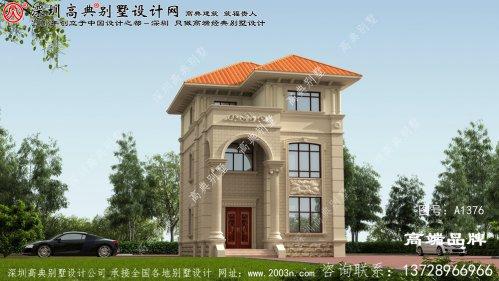 三层别墅 设计图 ,经济实用 ,布局合理