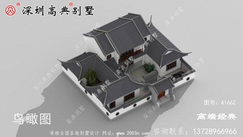 新中式二层自建房,典雅与时尚并存,真想现在就回家建