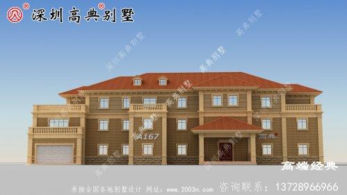 新款自建房户型图,简单实用,回乡建房的佳选