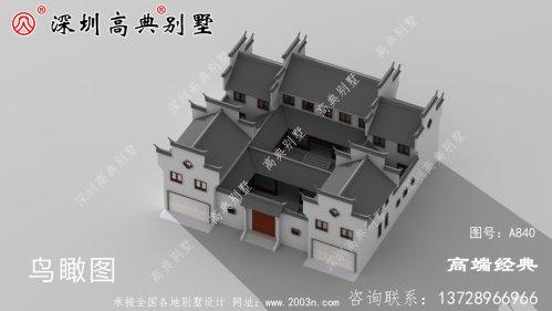 二层中式别墅设计图